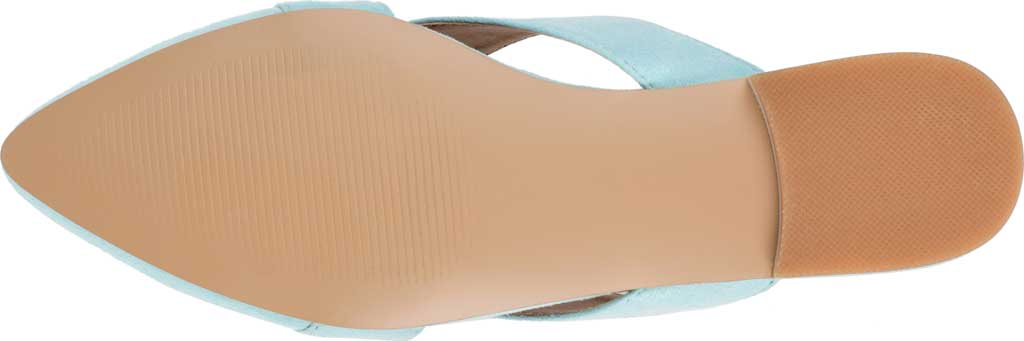 Women's Journee Collection Giada Mule, Mint Faux Suede, large, image 6