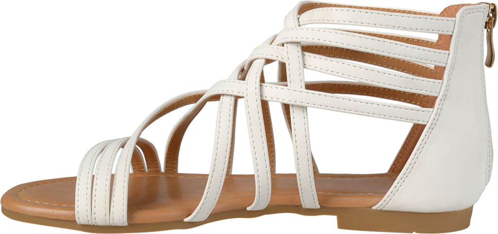 Women's Journee Collection Hanni Flat Strappy Sandal, , large, image 3