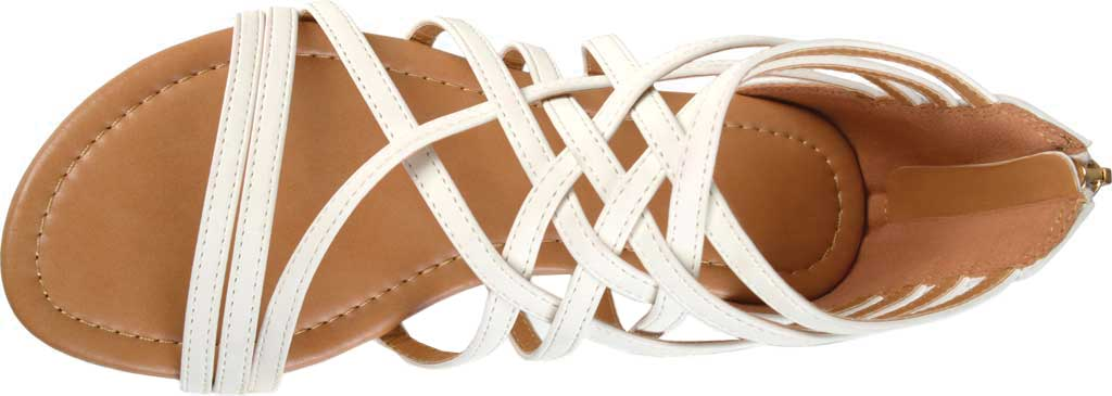 Women's Journee Collection Hanni Flat Strappy Sandal, , large, image 5