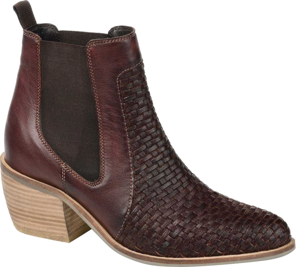 Women's Journee Collection Skyller Chelsea Bootie, Brown Leather, large, image 1