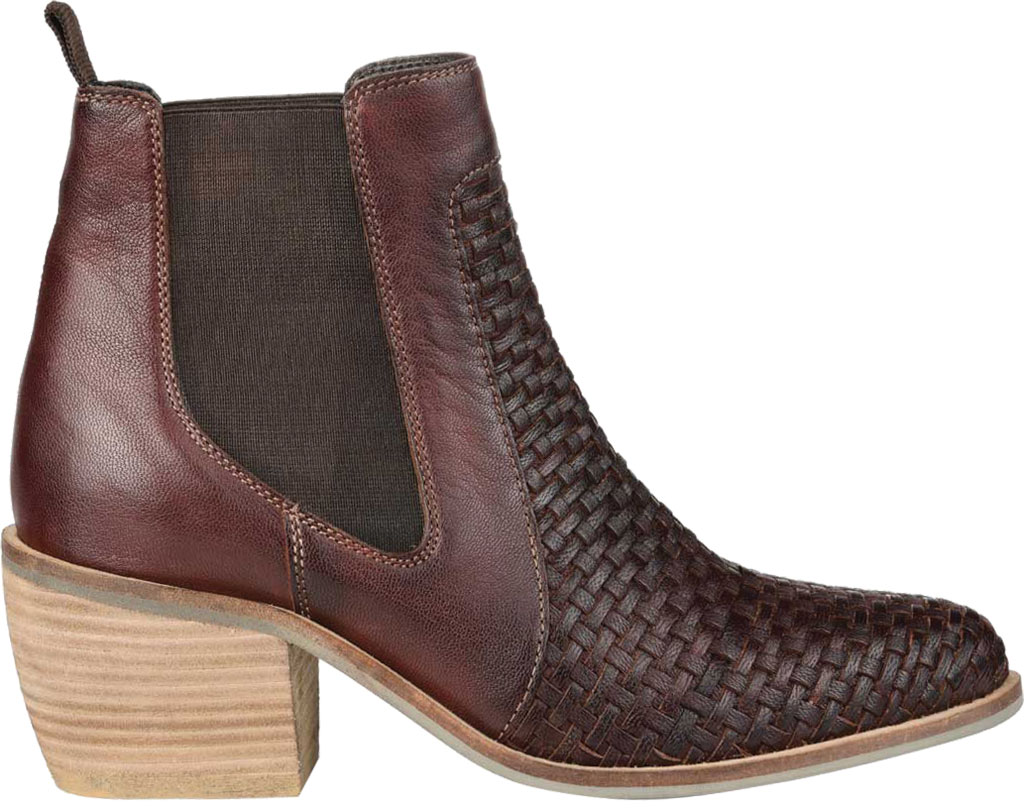 Women's Journee Collection Skyller Chelsea Bootie, Brown Leather, large, image 2