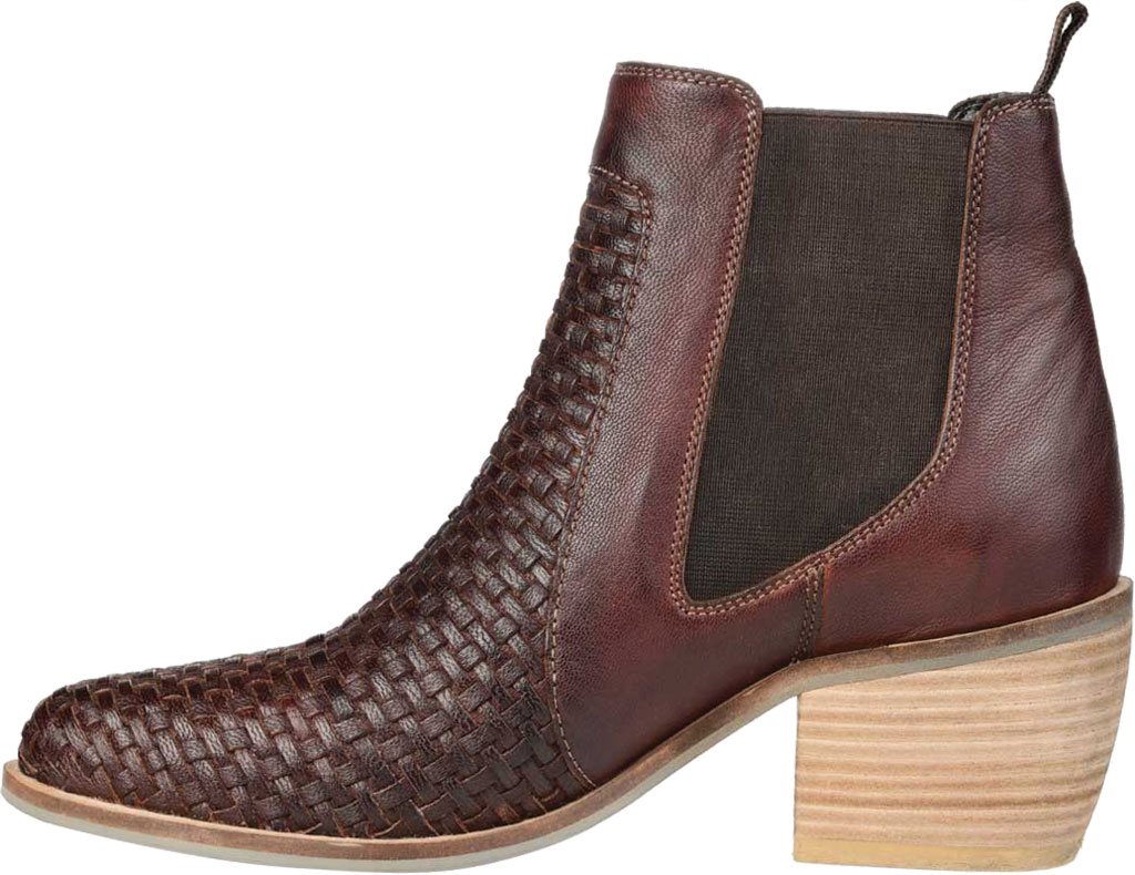 Women's Journee Collection Skyller Chelsea Bootie, Brown Leather, large, image 3