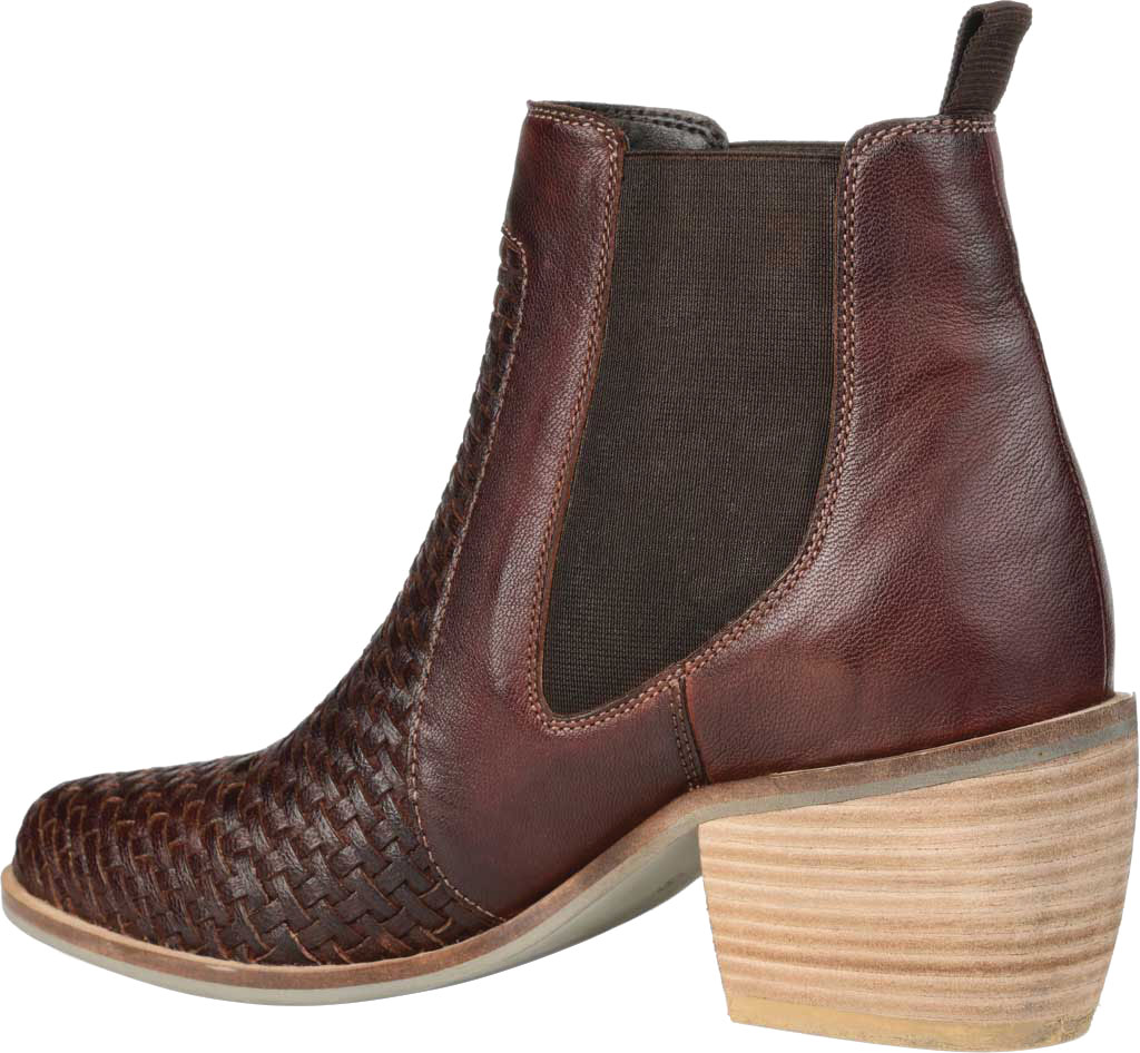 Women's Journee Collection Skyller Chelsea Bootie, Brown Leather, large, image 4