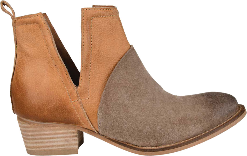 Women's Journee Collection Dempsy Cut Out Ankle Bootie, Cognac Leather, large, image 2