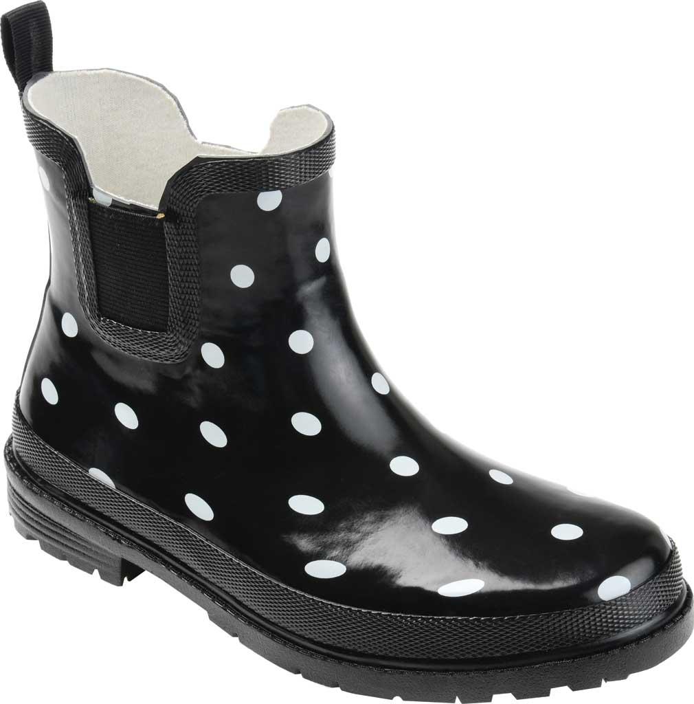 Women's Journee Collection Tekoa Rain Boot, Dot Rubber, large, image 1