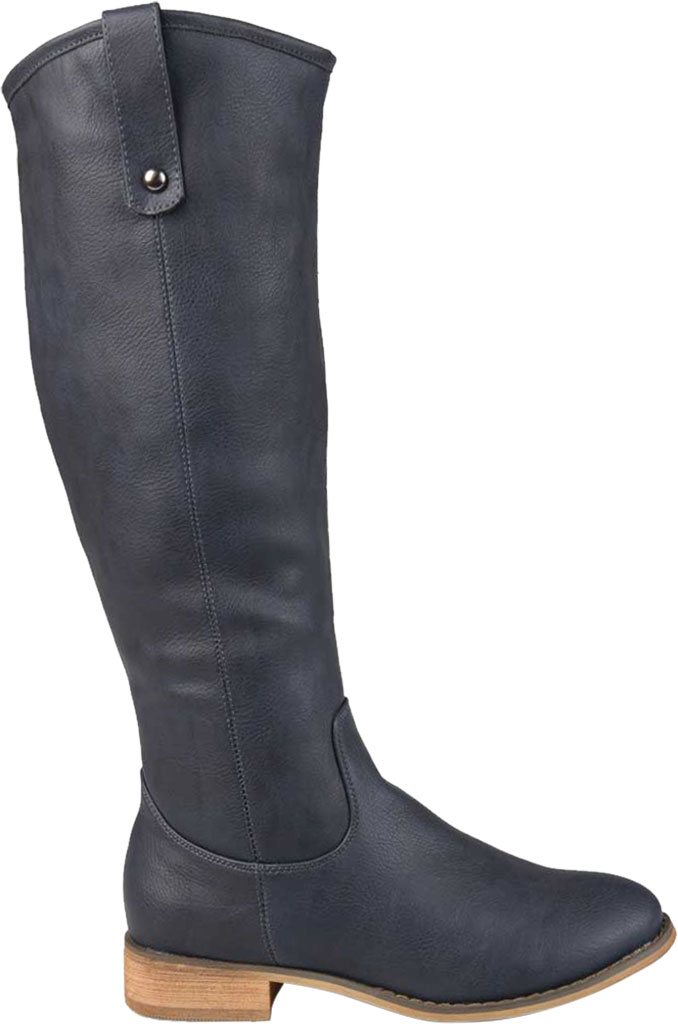 Women's Journee Collection Taven Wide Calf Knee High Boot, Blue Faux Leather, large, image 2