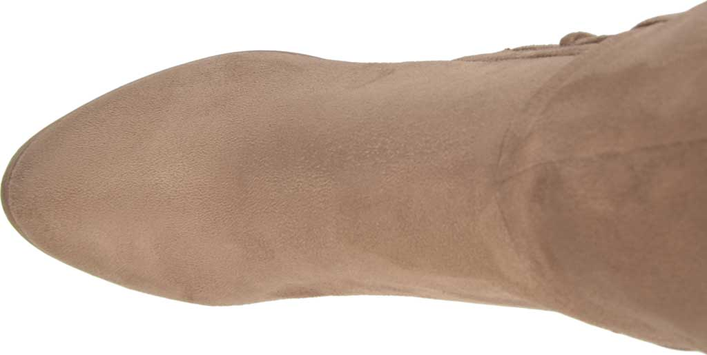 Women's Journee Collection Spritz-S Over The Knee Boot, Taupe Faux Suede, large, image 5