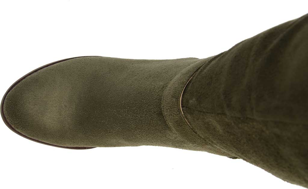 Women's Journee Collection Joelle Extra Wide Calf Knee High Boot, Olive Microsuede, large, image 5