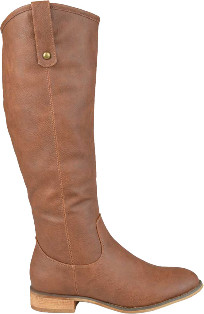Women's Journee Collection Taven Knee High Boot, Brown Faux Leather, large, image 2