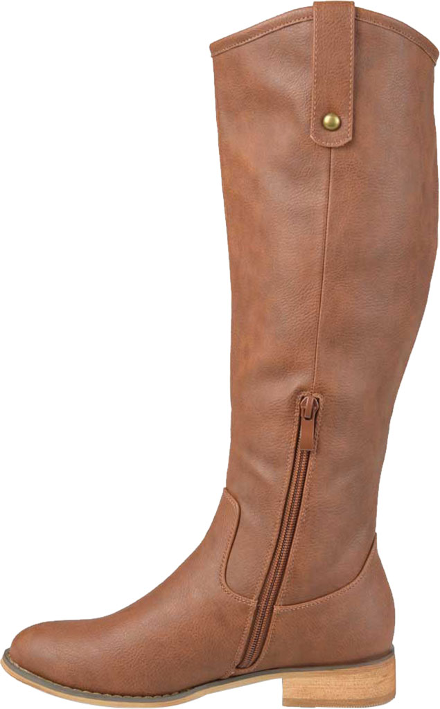 Women's Journee Collection Taven Knee High Boot, Brown Faux Leather, large, image 3