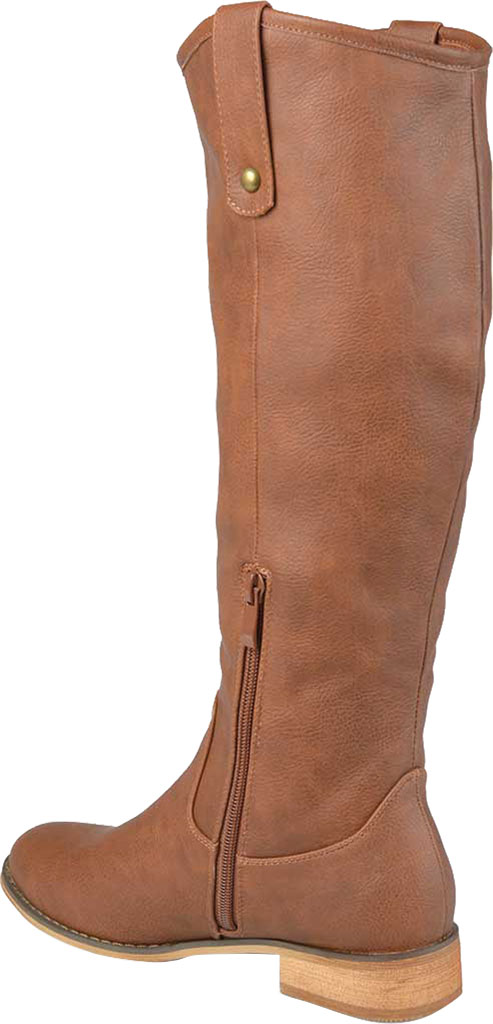 Women's Journee Collection Taven Knee High Boot, Brown Faux Leather, large, image 4
