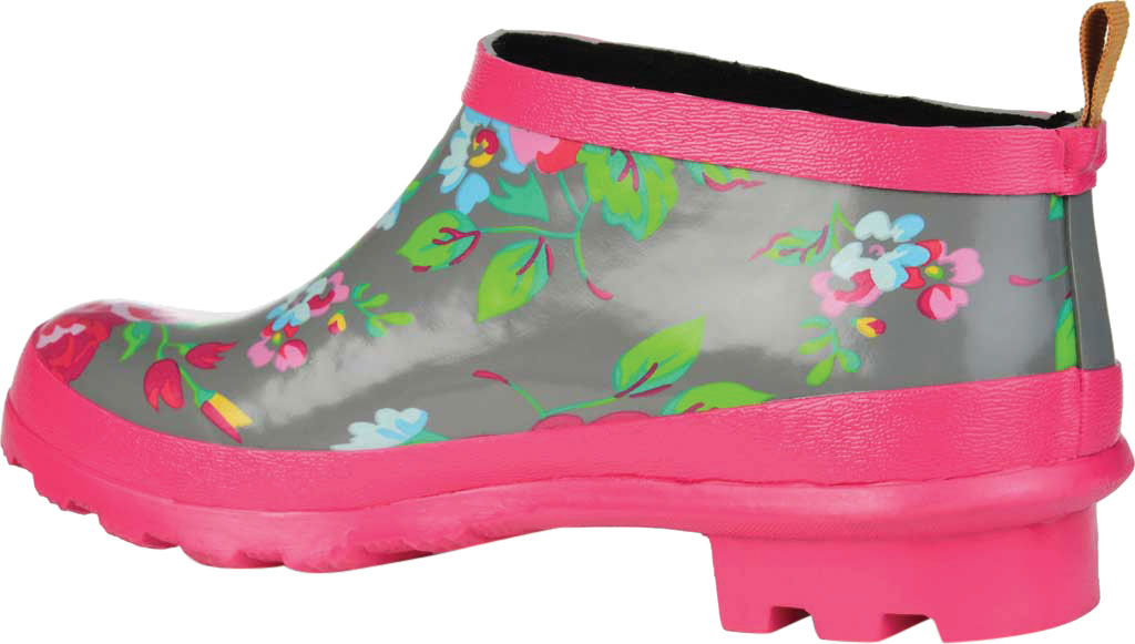 Women's Journee Collection Rainer Rain Boot, Grey Floral Rubber, large, image 4