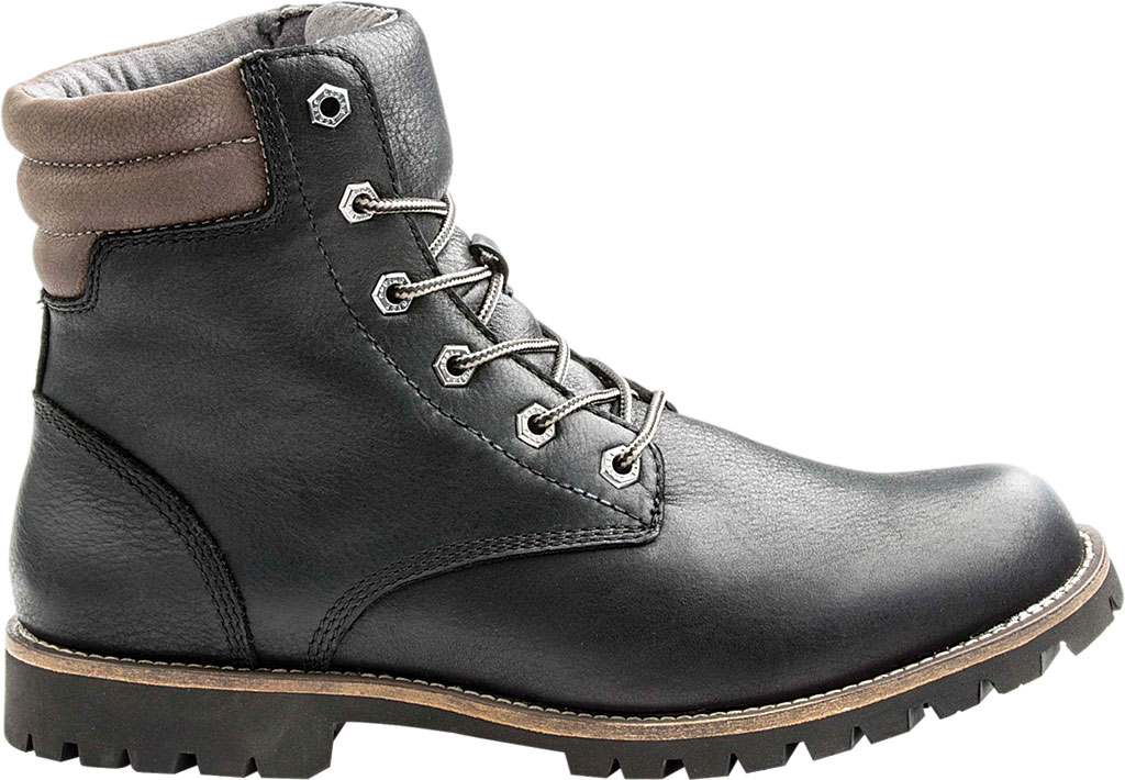 "Men's Kodiak Magog 6"" Work Boot, Black Leather, large, image 2"