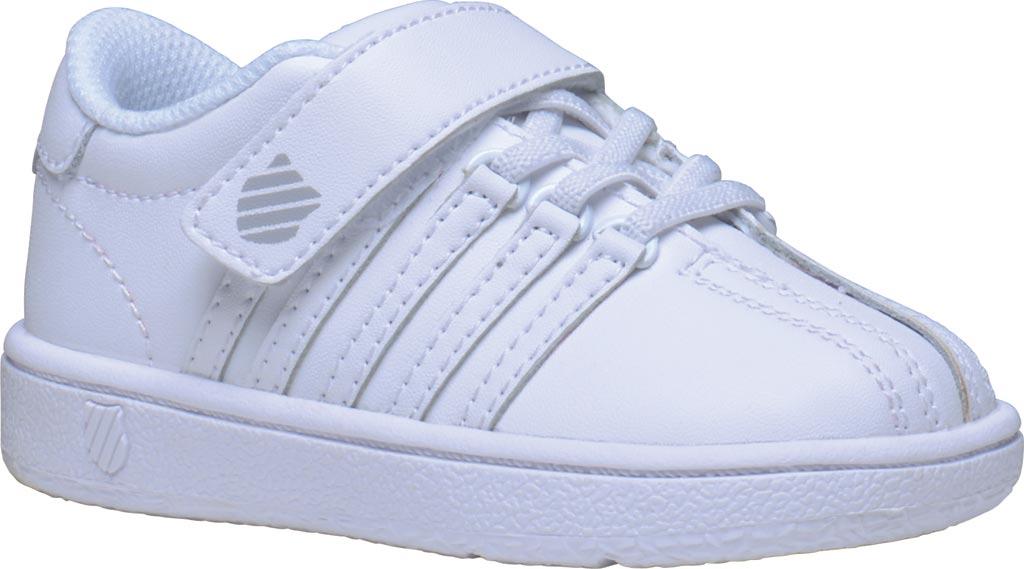 Infant K-Swiss Classic VN VLC Sneaker, White/White, large, image 1