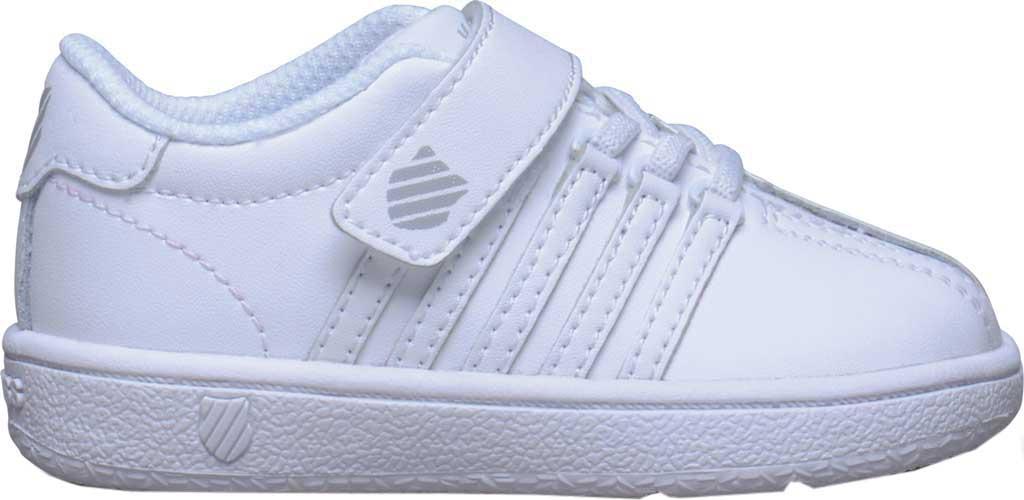 Infant K-Swiss Classic VN VLC Sneaker, White/White, large, image 2