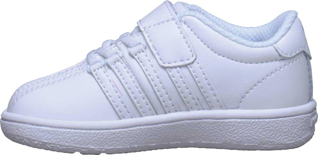 Infant K-Swiss Classic VN VLC Sneaker, White/White, large, image 3