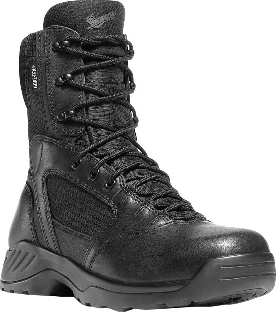 """Men's Danner Kinetic GORE-TEX 8"""", Black Full Grain Leather/Nylon, large, image 1"""