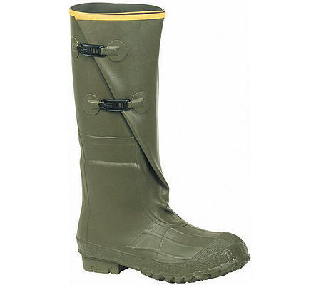 """Men's LaCrosse Insulated 2-Buckle 18"""" Rubber Boot, OD Green, large, image 1"""