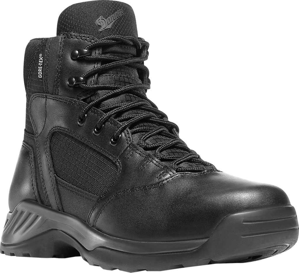 "Men's Danner Kinetic Side-Zip GORE-TEX 6"", Black Leather, large, image 1"