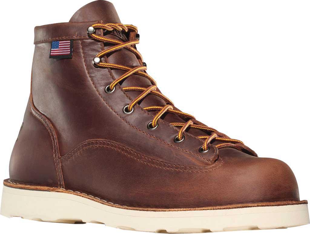 """Men's Danner Bull Run 6"""" Cristy, Brown Full Grain Leather, large, image 1"""