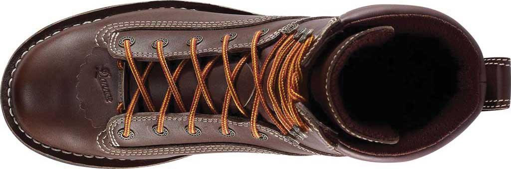 "Men's Danner Quarry USA 8"" Alloy Toe, Brown Full Grain Leather, large, image 4"