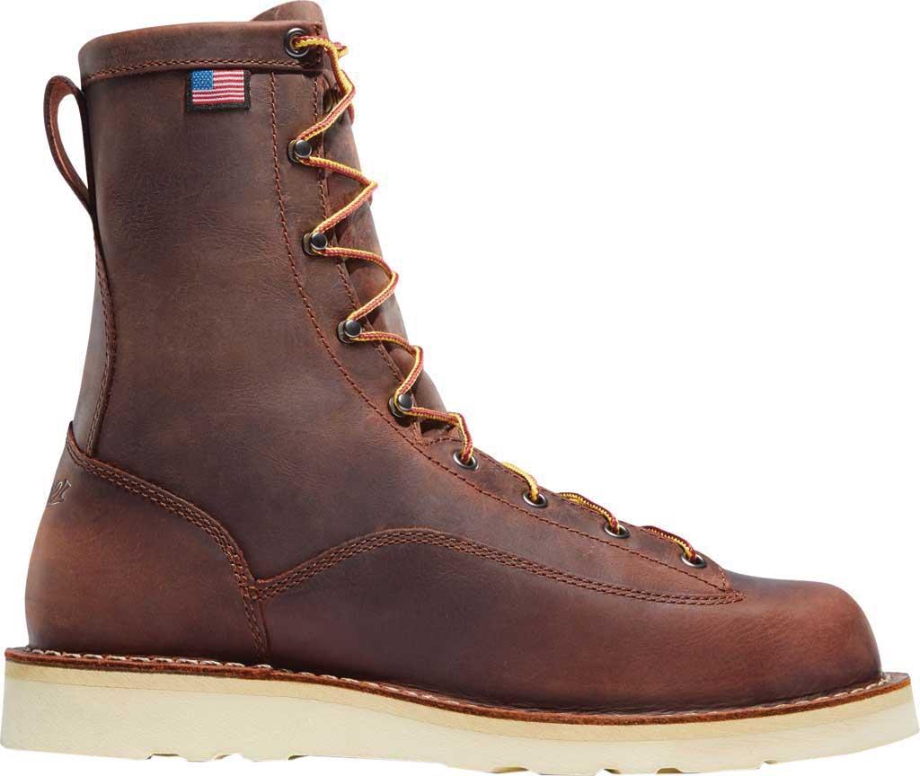 """Men's Danner Bull Run 8"""" Cristy, Brown Full Grain Leather, large, image 2"""