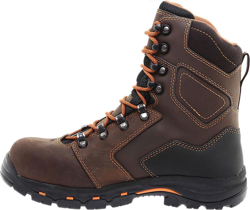 "Men's Danner Vicious 8"" Non Metallic Toe Boot, Brown Leather, large, image 3"