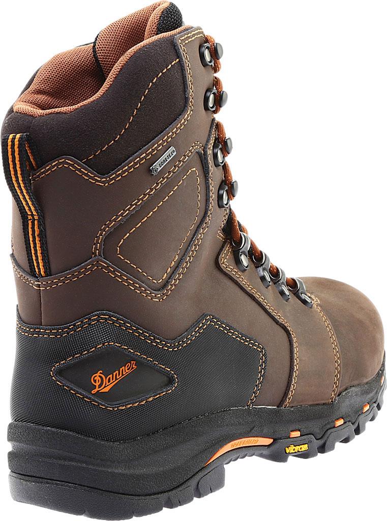 "Men's Danner Vicious 8"" Non Metallic Toe Boot, Brown Leather, large, image 4"