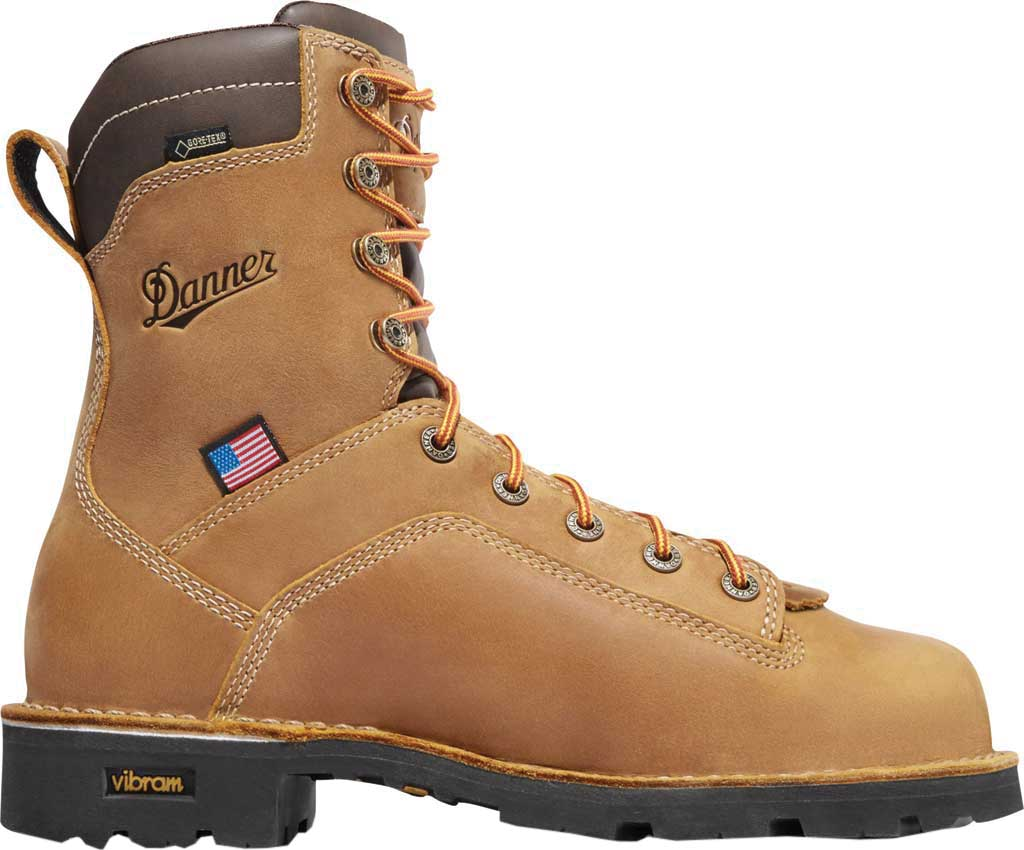 "Men's Danner Quarry USA 8"" 400G NMT, Distressed Brown, large, image 2"