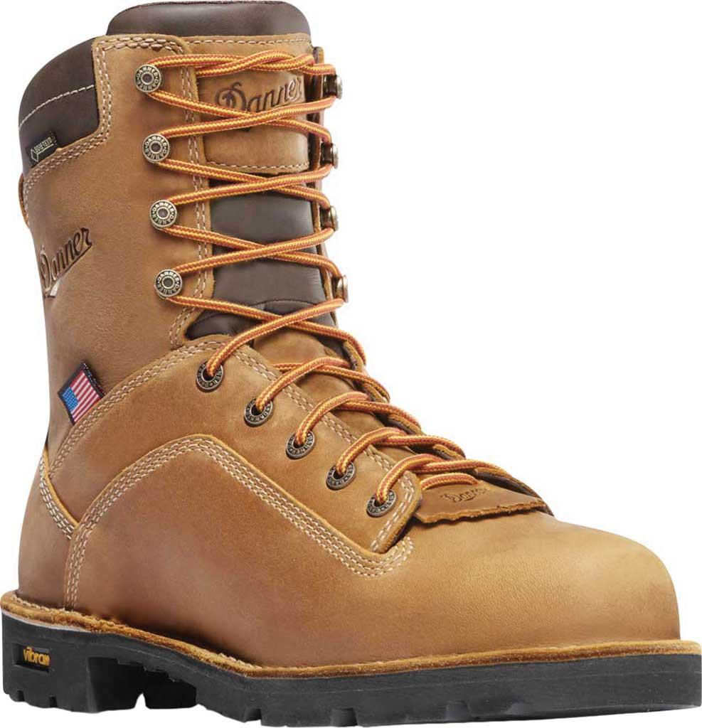 "Men's Danner Quarry USA 8"" 400G, Distressed Brown, large, image 1"