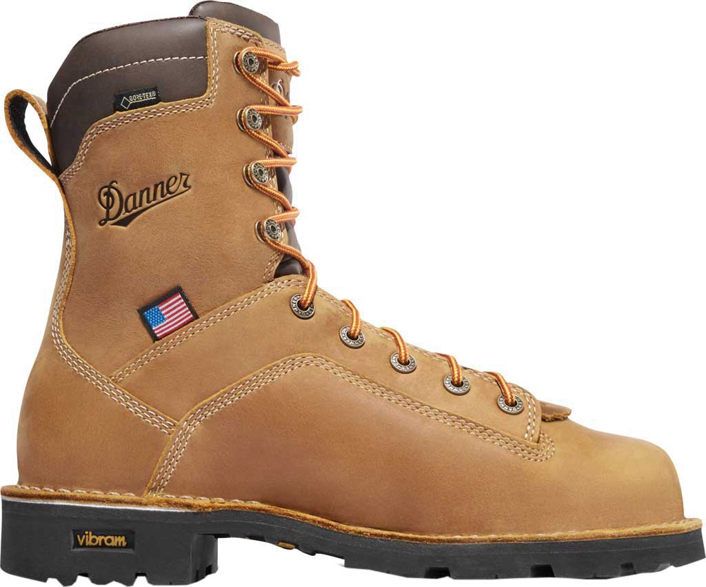 "Men's Danner Quarry USA 8"" 400G, Distressed Brown, large, image 2"