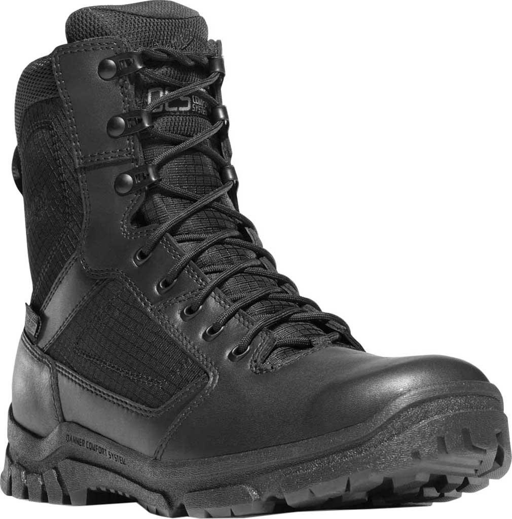 "Men's Danner Lookout 8"", Black Full Grain Leather, large, image 1"