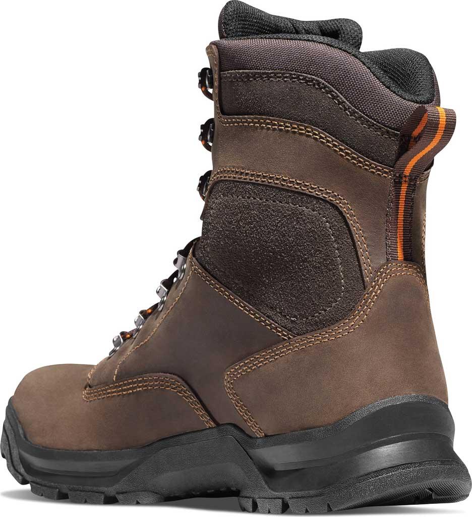 "Men's Danner Crafter 8"" Non Metallic Toe Boot, Brown Nubuck, large, image 2"