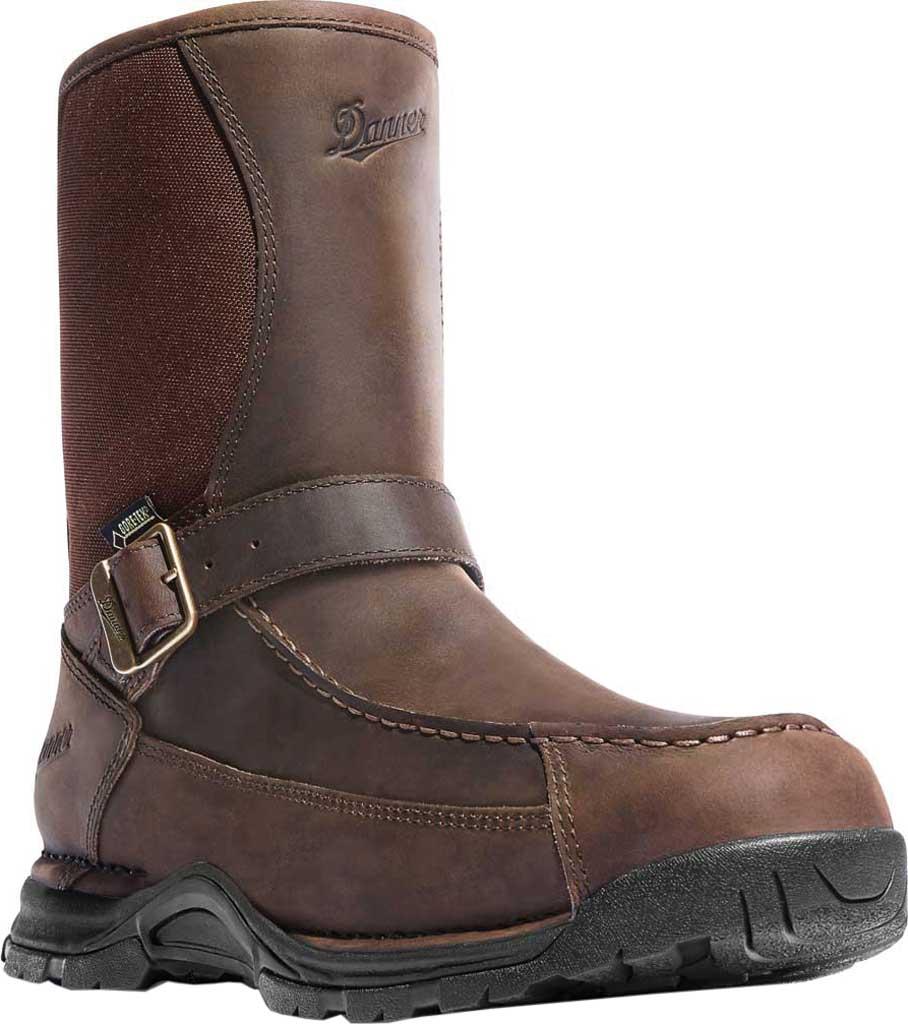 "Men's Danner Sharptail Rear-Zip GORE-TEX 10"" Boot, Brown Full Grain Leather/Nylon, large, image 1"