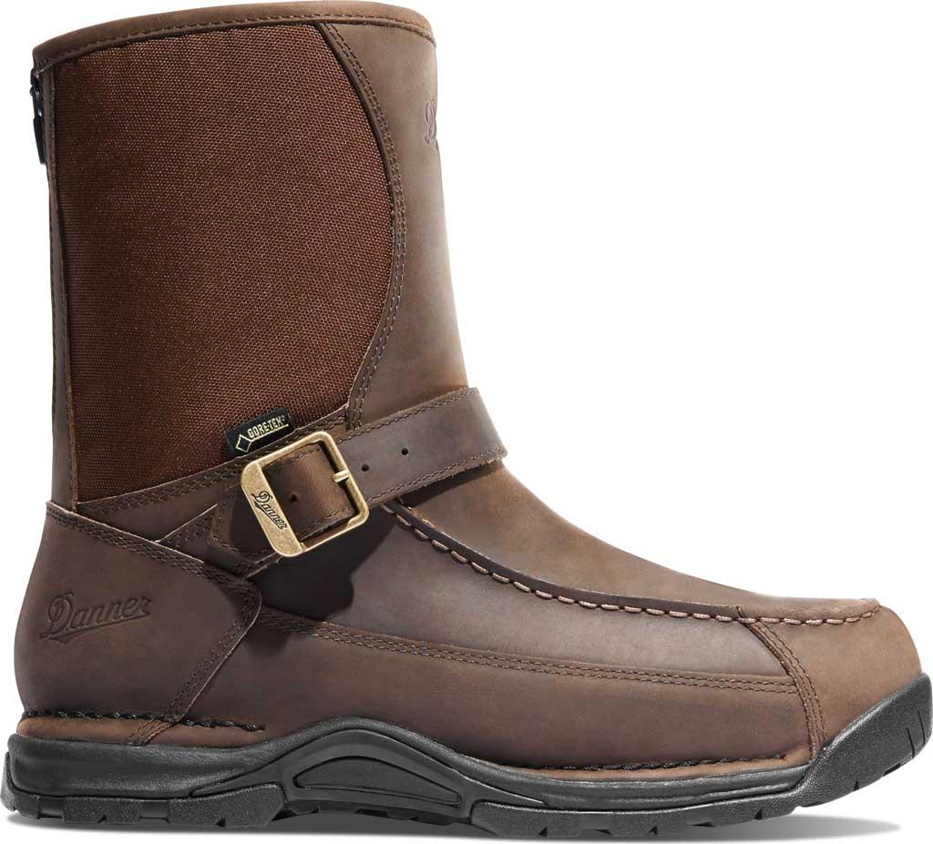 "Men's Danner Sharptail Rear-Zip GORE-TEX 10"" Boot, Brown Full Grain Leather/Nylon, large, image 2"