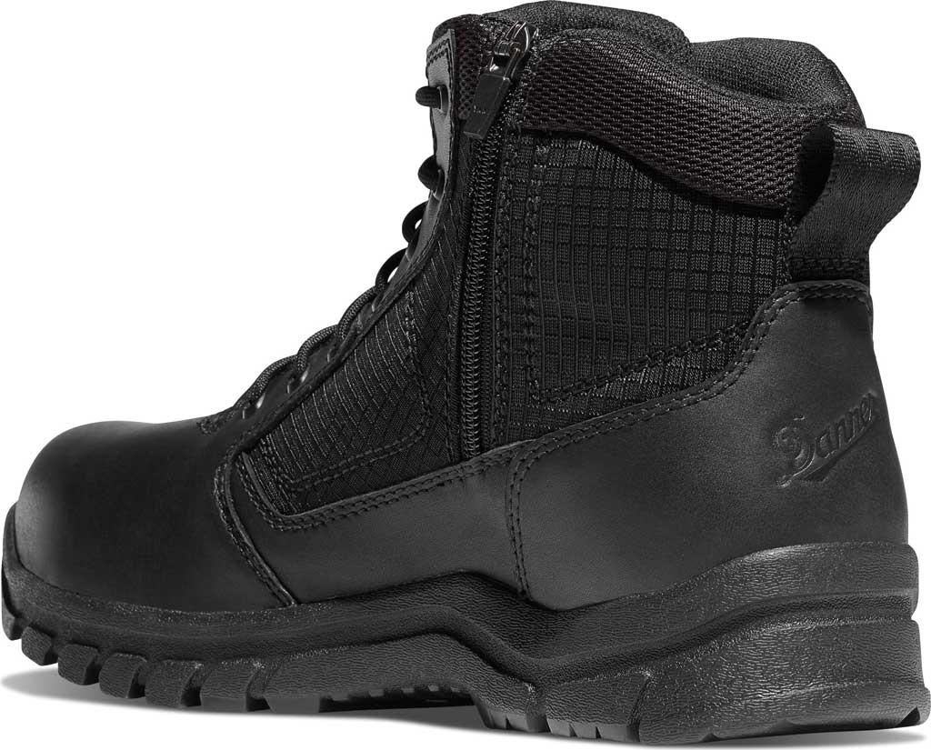 "Men's Danner Lookout Side-Zip NMT 5.5"" Work Boot, Black Leather, large, image 2"