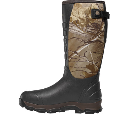 """Men's LaCrosse 16"""" 4xAlpha 7.0mm Boot, Realtree Xtra, large, image 2"""