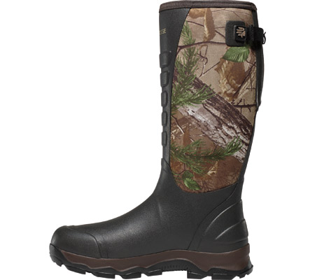 """Men's LaCrosse 16"""" 4xAlpha 3.5mm Boot, Realtree Xtra Green, large, image 2"""