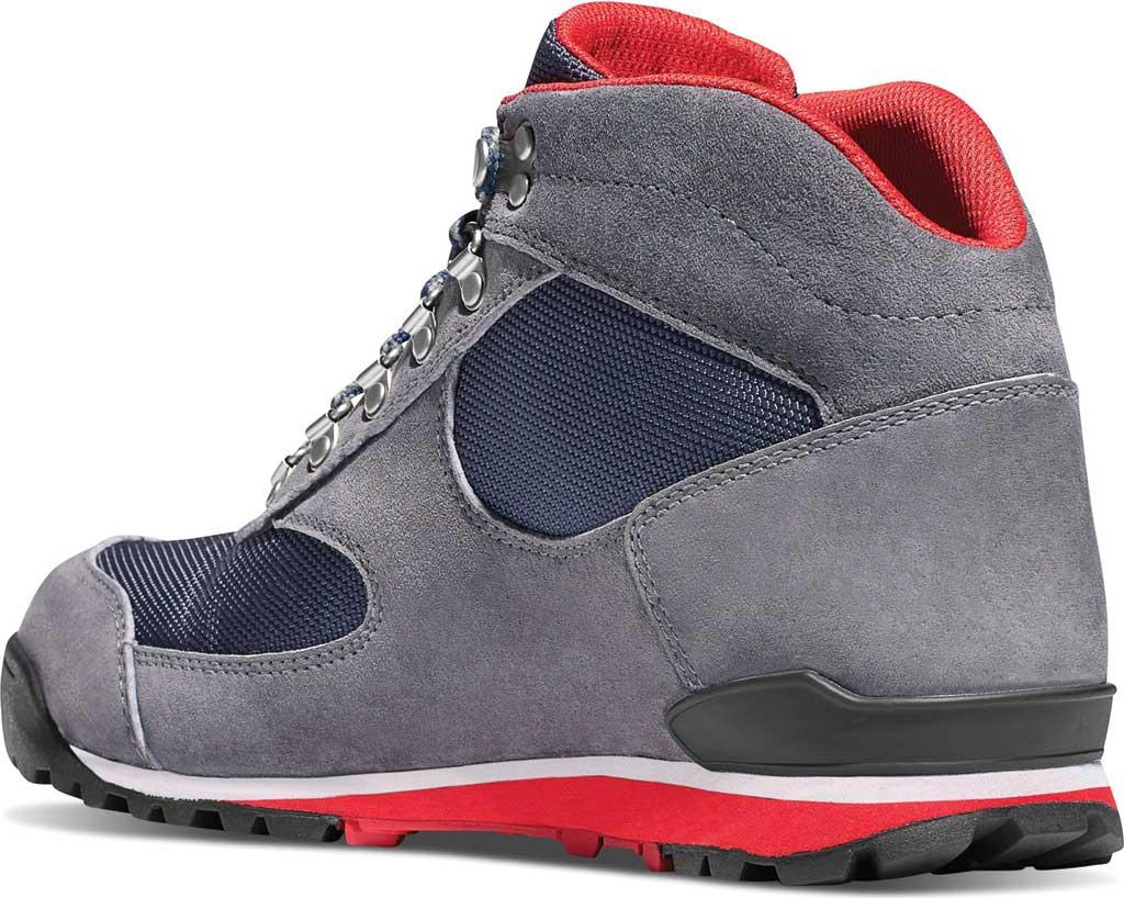 Men's Danner Jag Urban Hiking Boot, Steel Grey/Blue Wing Suede/Cordura, large, image 2