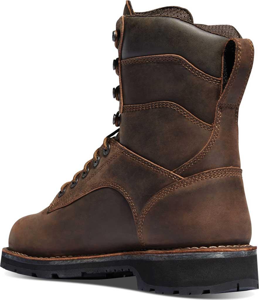 "Men's Danner Workman GORE-TEX 8"" Alloy Toe Boot, Brown Oiled Full Grain Leather, large, image 2"