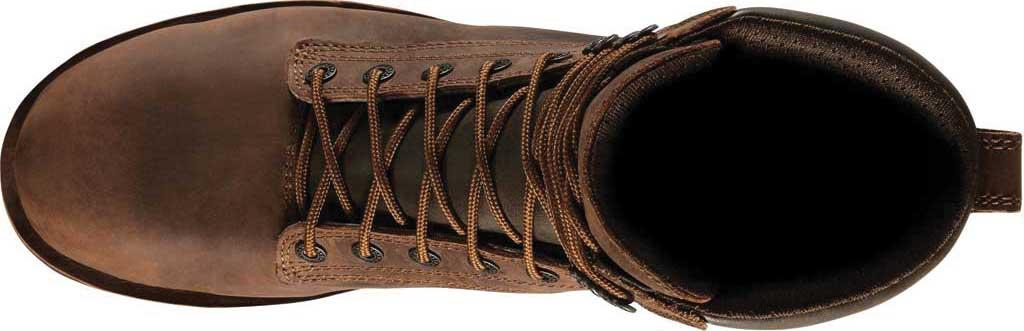 "Men's Danner Workman GORE-TEX 8"" Alloy Toe Boot, Brown Oiled Full Grain Leather, large, image 3"