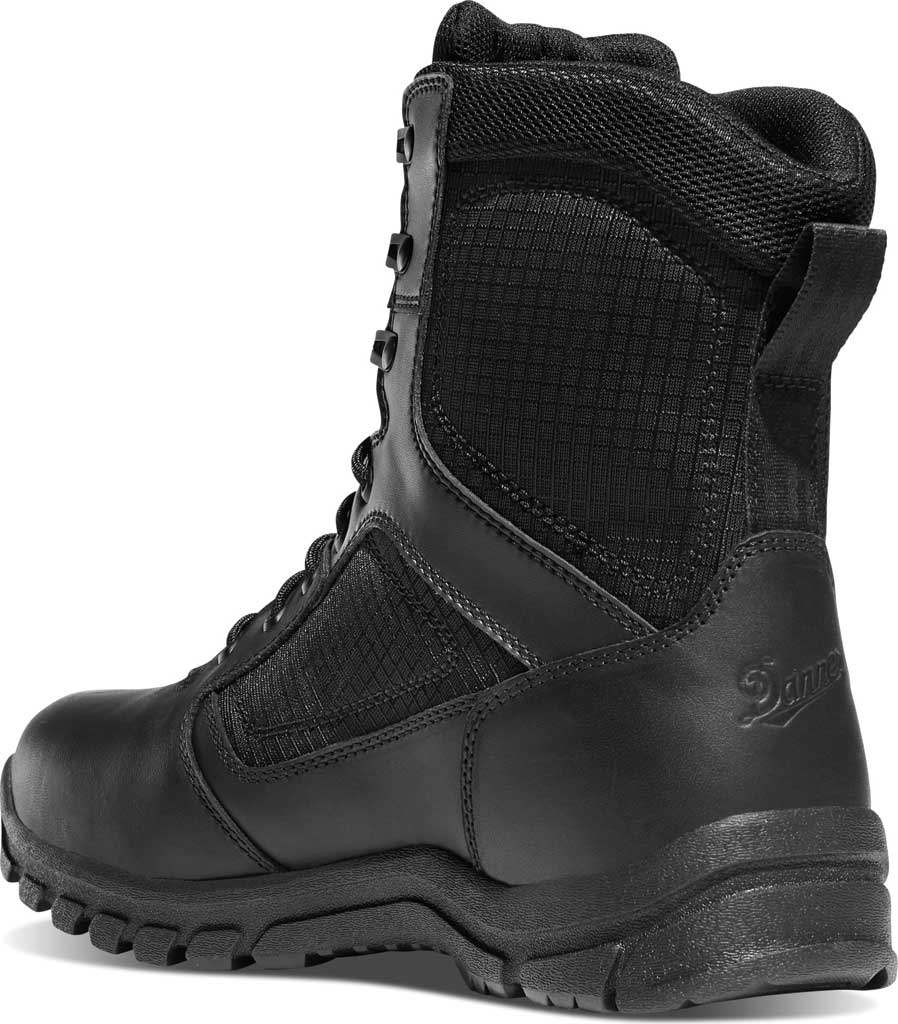 """Men's Danner Lookout 8"""" 800G Insulated Boot, Black Full Grain Leather, large, image 2"""