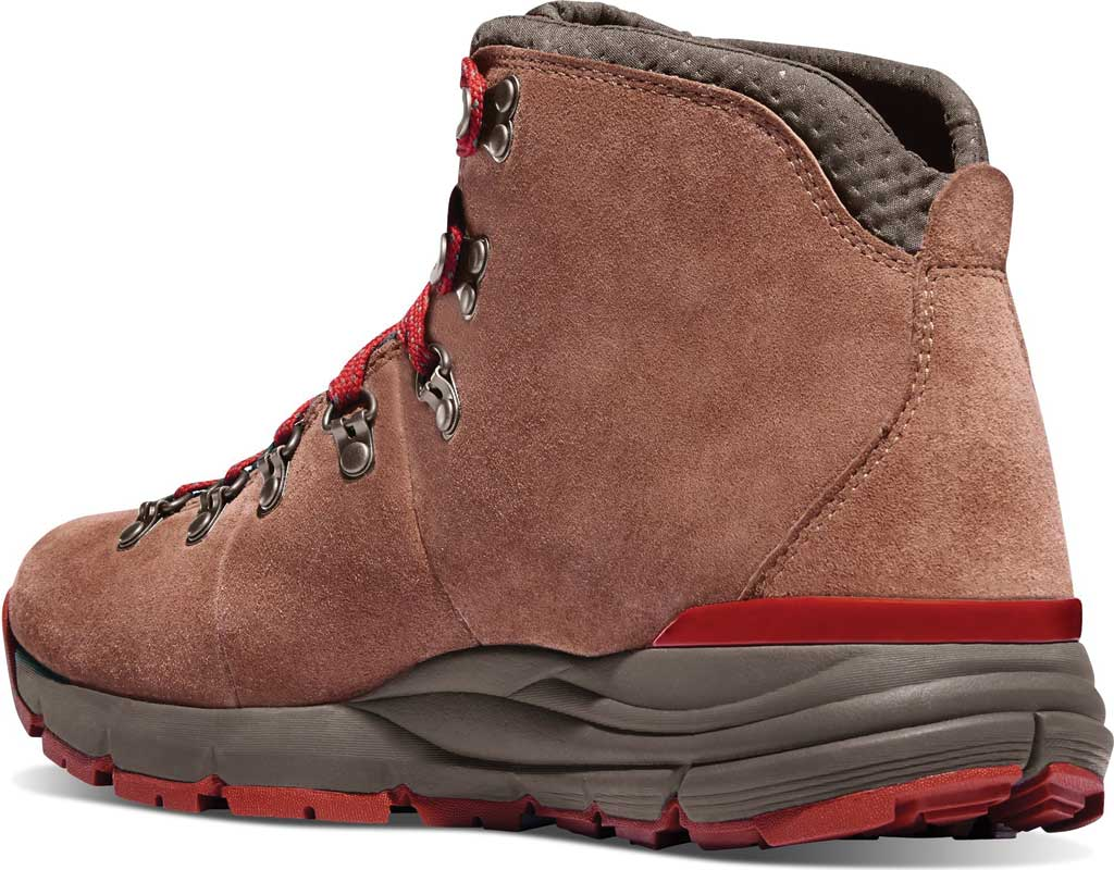 """Women's Danner Mountain 600 4.5"""" Hiking Boot, Brown/Red Suede, large, image 2"""