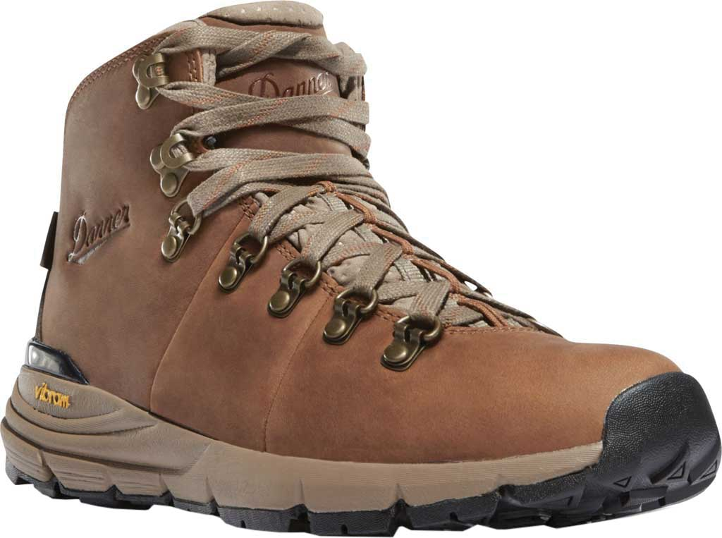 "Women's Danner Mountain 600 4.5"" Hiking Boot, Rich Brown Full Grain Leather, large, image 1"