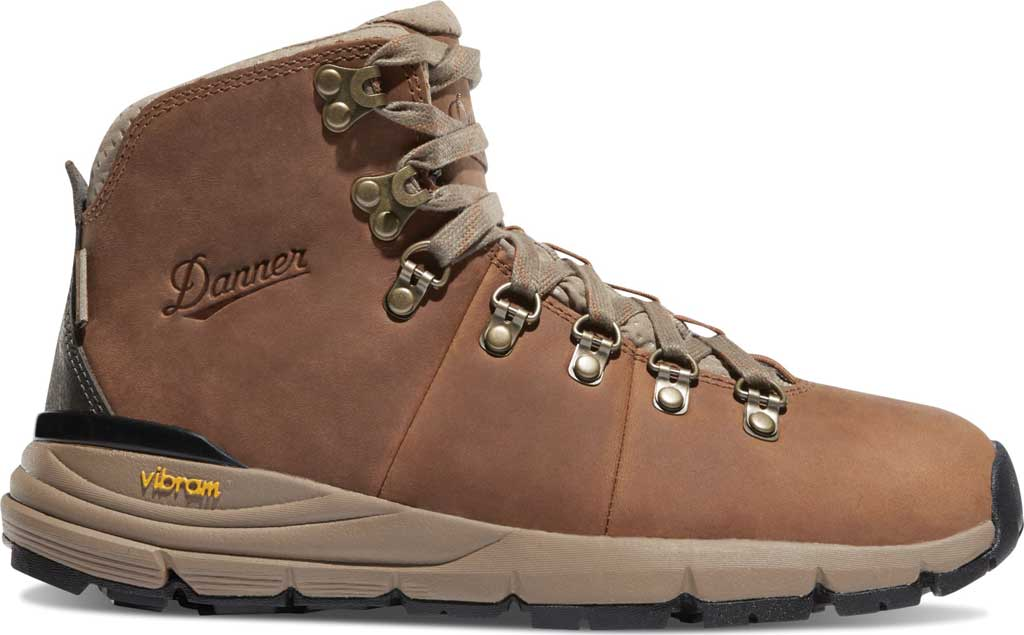 """Women's Danner Mountain 600 4.5"""" Hiking Boot, Rich Brown Full Grain Leather, large, image 2"""