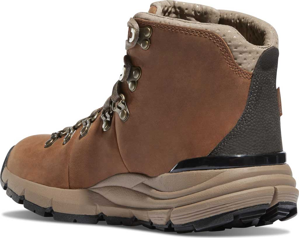"""Women's Danner Mountain 600 4.5"""" Hiking Boot, Rich Brown Full Grain Leather, large, image 3"""