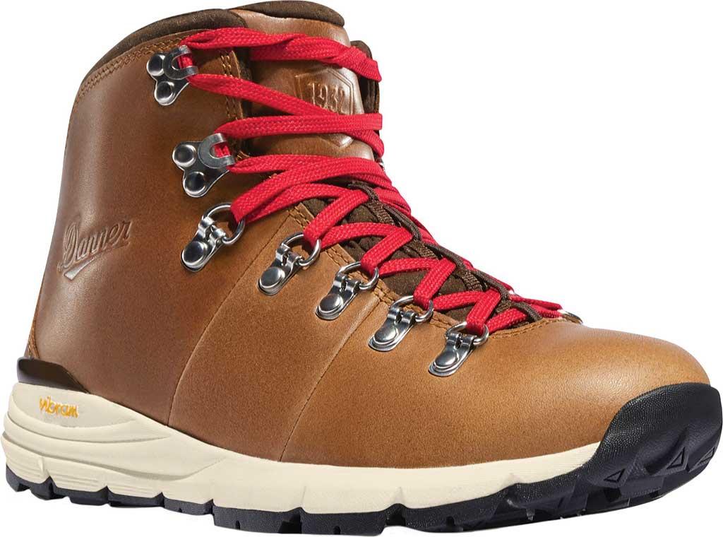 "Women's Danner Mountain 600 4.5"" Hiking Boot, Saddle Tan Full Grain Leather, large, image 1"