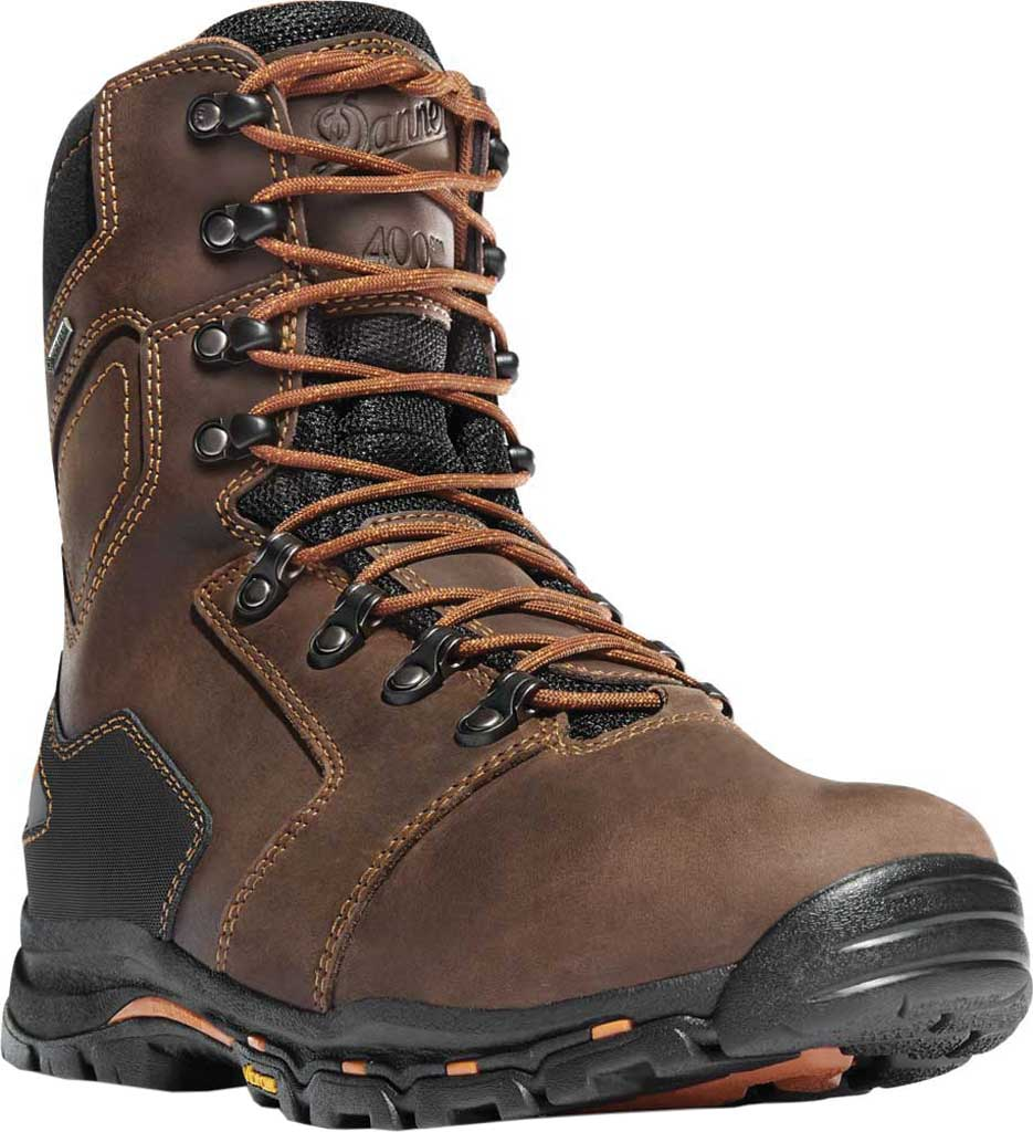 "Men's Danner Vicious 8"" GORE-TEX NMT Insulated Boot, Brown Leather, large, image 1"