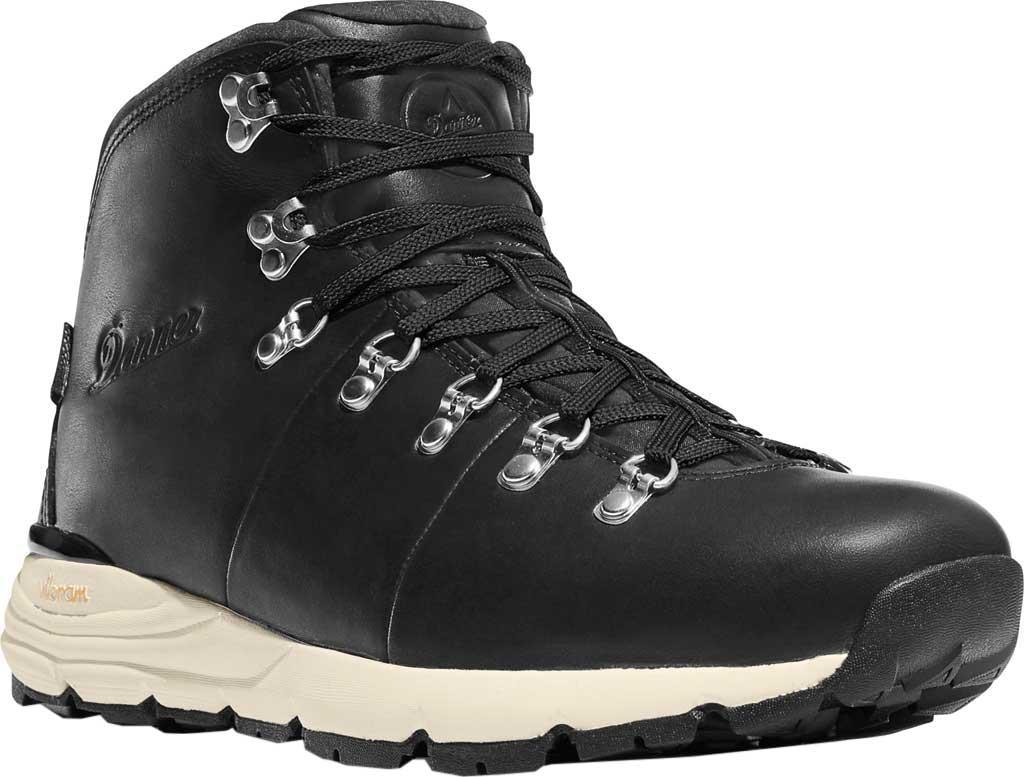 "Men's Danner Mountain 600 4.5"" Hiking Boot, Black Full Grain Leather, large, image 1"