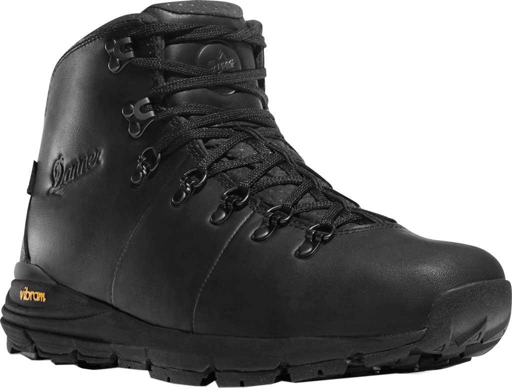 "Men's Danner Mountain 600 4.5"" Hiking Boot, Carbon Black Full Grain Leather, large, image 1"